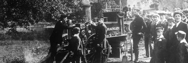 Brackley and Towcester Fire Engines, 1905