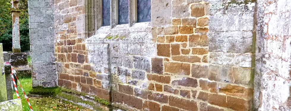 Norman Buttresses, St Nicholas Church