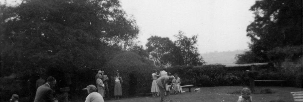 Fete at Manor Farm, post WW2