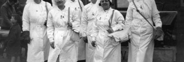 St Johns Nurses, War Weapons Week, 1941