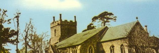 St Nicholas Church Postcard, 1950s