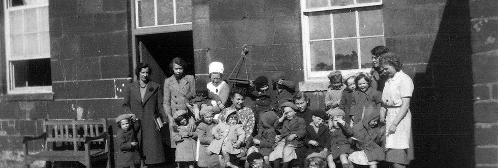 Nursery School at Eydon Hall c. 1943