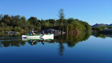 Orange River by Canoe