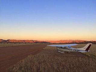 The Sandfontein airstrip.JPG