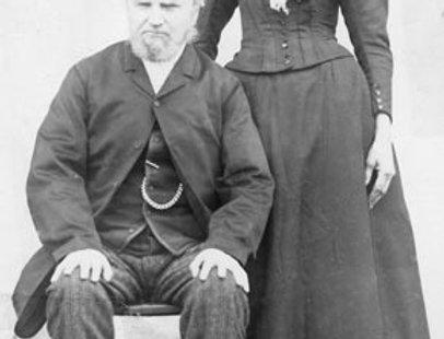 Mary Ann & William Carey(?), 1870s