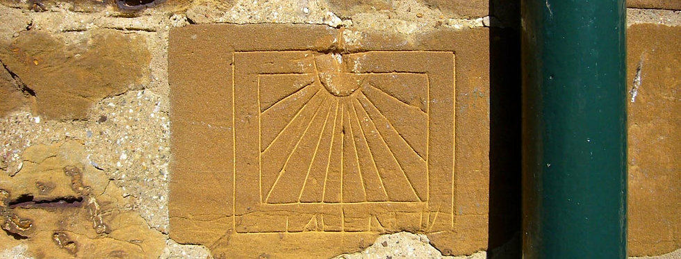 Small Scientific Sun Dial, 47 High Street