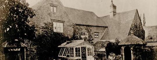 Front Garden, Rectory Farmhouse, 1868
