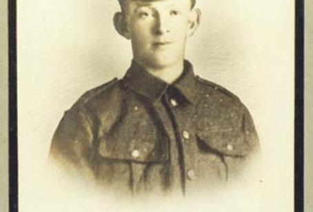 Private G Fairbrother, WW1 Memorial Board