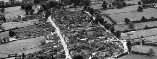 Eydon from the Air, 1952