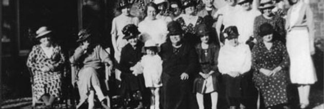 Larger Group of Mothers Union, c 1936