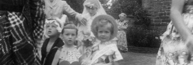Fancy dress at the Village Fete,1959