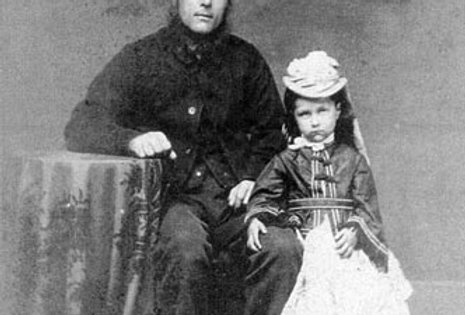 John and Rosetta Bromfield, c1872