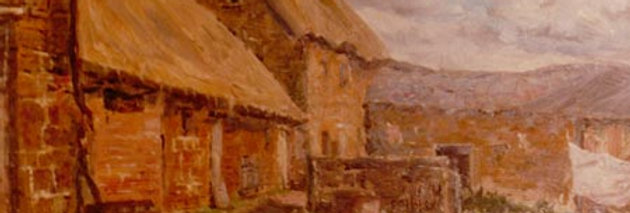 Another Painting of Home Farm, Partridge Lane