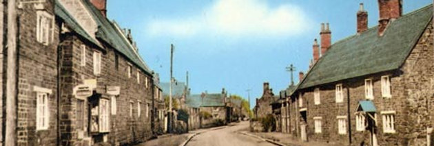South End of High Street (colour), 1950s