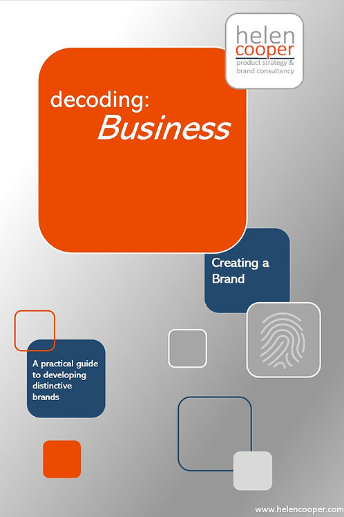 Decoding: Business – Creating a Brand