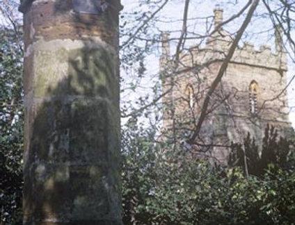 12th Century Pillar from Eydon Church
