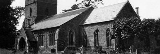 Postcard, Eydon Church