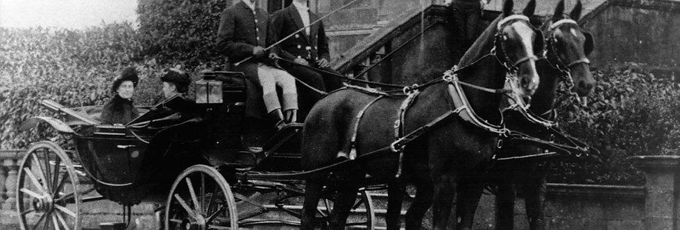 Eydon Hall Coachmen c.1880