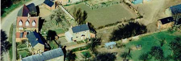 1960s Aerial Photo of back of Hill View