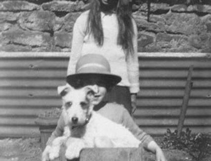 Amy Hannis & Joan Parish, 1930s