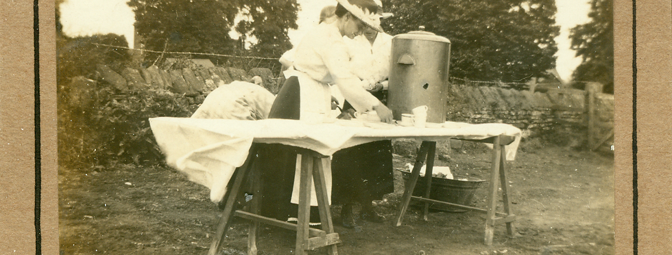 Tea Urn at Early 20th Century Fete