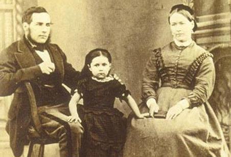 Bromfield Family, c 1874