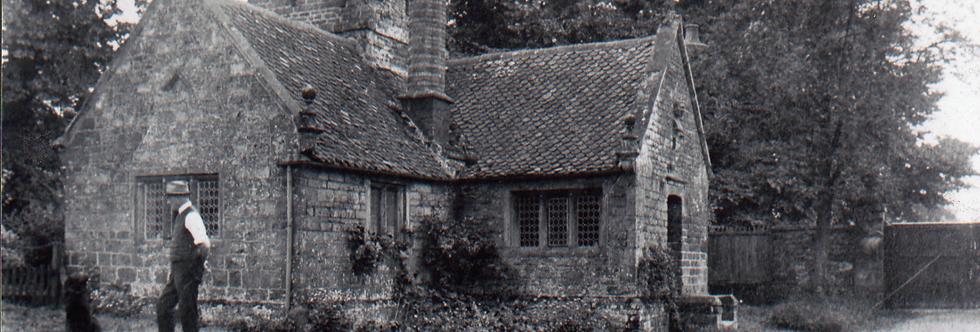 Thomas Colton at North Lodge c1915