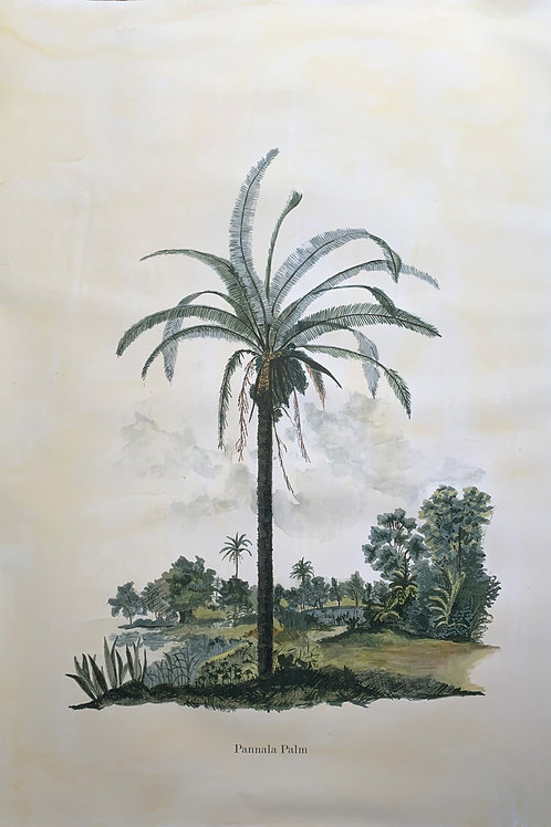 Pannala Palm (A1) - Unframed