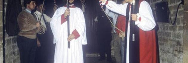 Blessing the Restored Bells, 1981