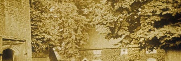 The Green and Cross Tree Cottages, early 1900s
