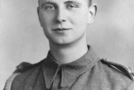 Trooper Fred Hannis, RAC, WW2
