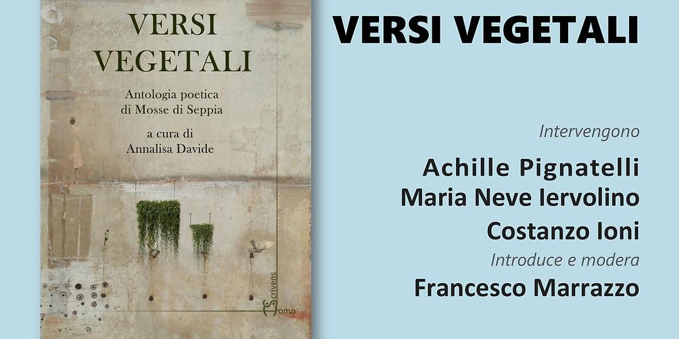 """Mosse di Seppia presenta """"Versi vegetali"""" alla libreria Iocisto"""