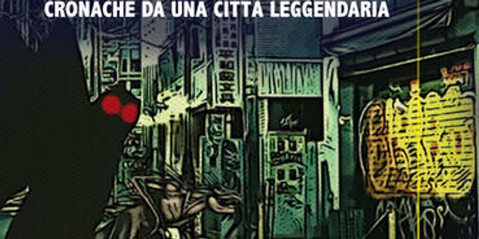 """Giancarlo Marino presenta """"Folkville"""" al caffè letterario """"Il Castello D'Aquino"""" di Grottaminarda (AV)"""