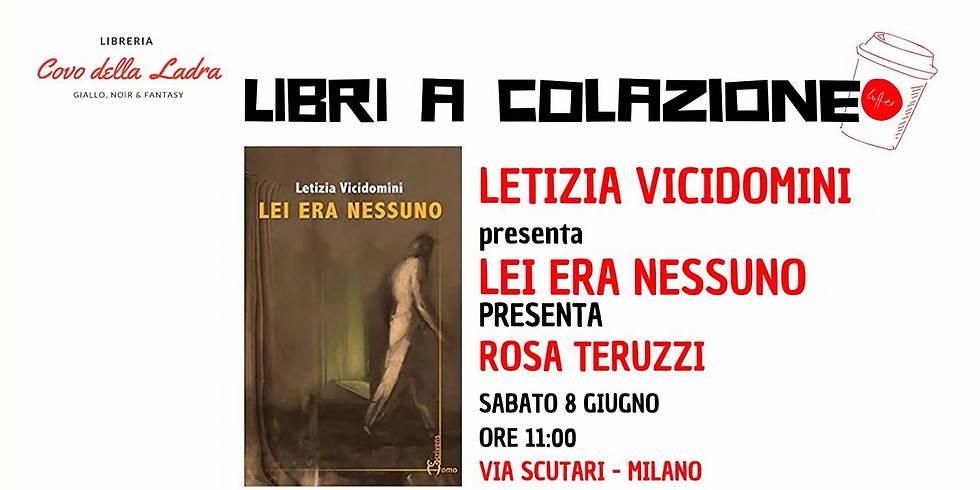 """Colazione con Letizia Vicidomini presso la libreria """"Covo della ladra"""" di Milano"""