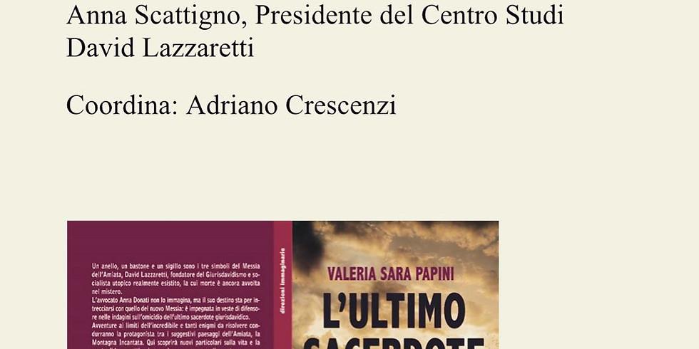 "Valeria Papini presenta ""L'ultimo sacerdote"" ad Arcidosso (GR)"