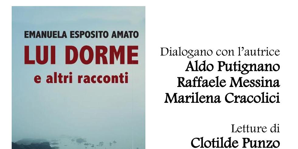 """Prima presentazione di """"Lui dorme e altri racconti"""" al Monidee Cafè di Napoli"""