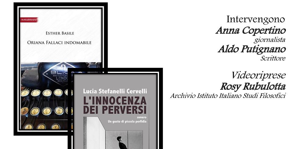 Ester Basile e Lucia Stefanelli Cervelli presso Lo Specchio di Parthenope a Napoli