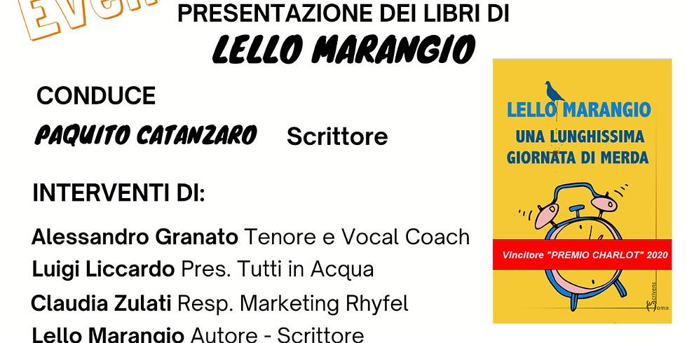 Lello Marangio presenta i suoi volumi a Marano di Napoli