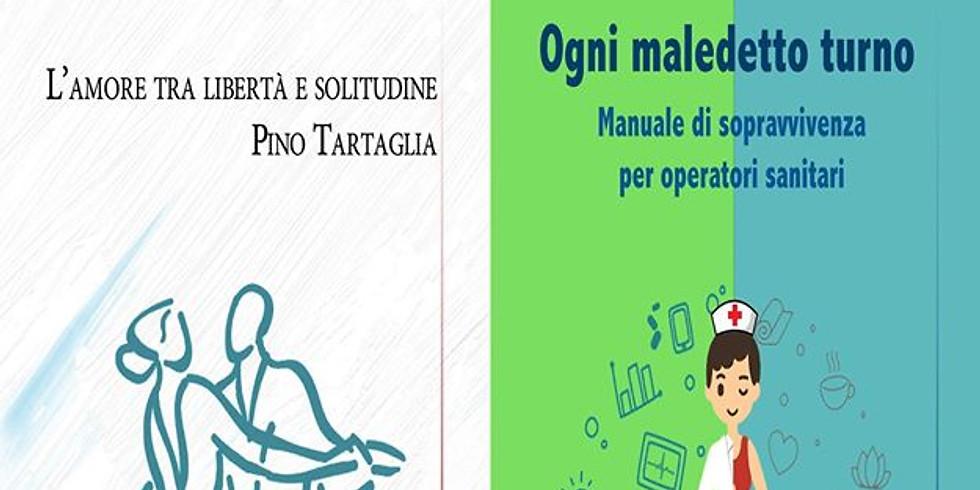 Pino Tartaglia e Ferdinando Gaeta alla libreria Raffaello