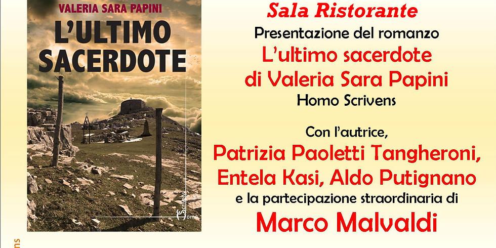 """Valeria Sara Papini presenta """"L'ultimo sacerdote"""" al Pisa Book Festival"""