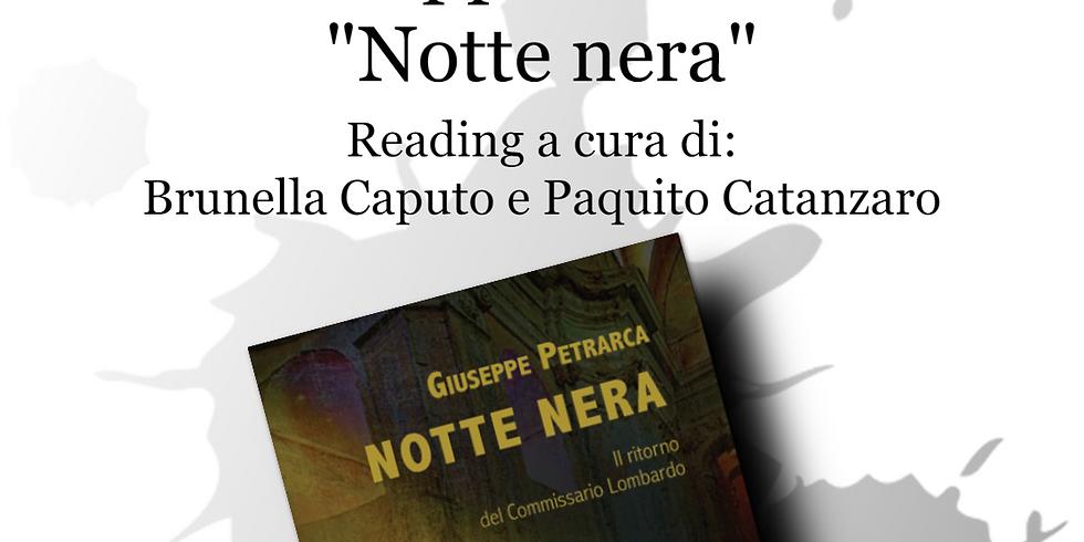 """Giuseppe Petrarca presenta """"Notte nera"""" al chiostro di San Domenico Maggiore"""