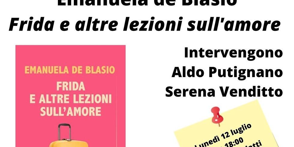 """Emanuela de Blasio presenta """"Frida e altre lezioni sull'amore"""" alla libreria Scarlatti"""