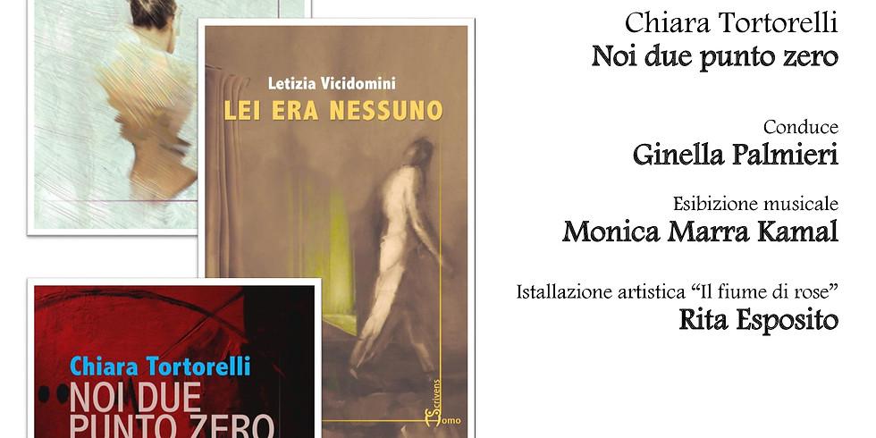 Vincenza Alfano, Chiara Tortorelli e Letizia Vicidomini ospiti della libreria Scarlatti di Napoli