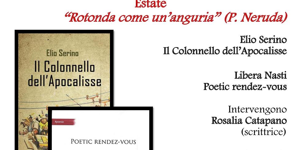 """Libera Nasti ed Elio Serino ospiti della rassegna """"Le stagioni di Homo Scrivens"""""""