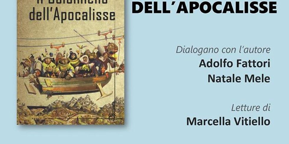 """Elio Serino presenta """"Il colonnello dell'Apocalisse"""" alla libreria Iocisto di Napoli"""