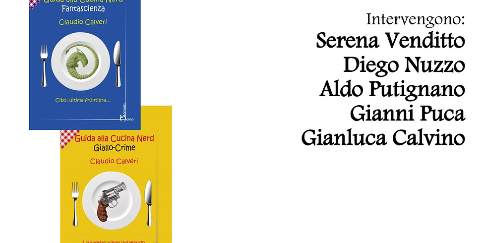 """Claudio Calveri presenta """"Guida alla cucina nerd"""" alla AndreaNuovo HomeGallery"""