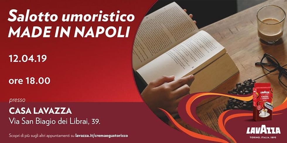 Rosa Alvino, Ivan Fedele e Paquito Catanzaro ospiti di Casa Lavazza a Napoli
