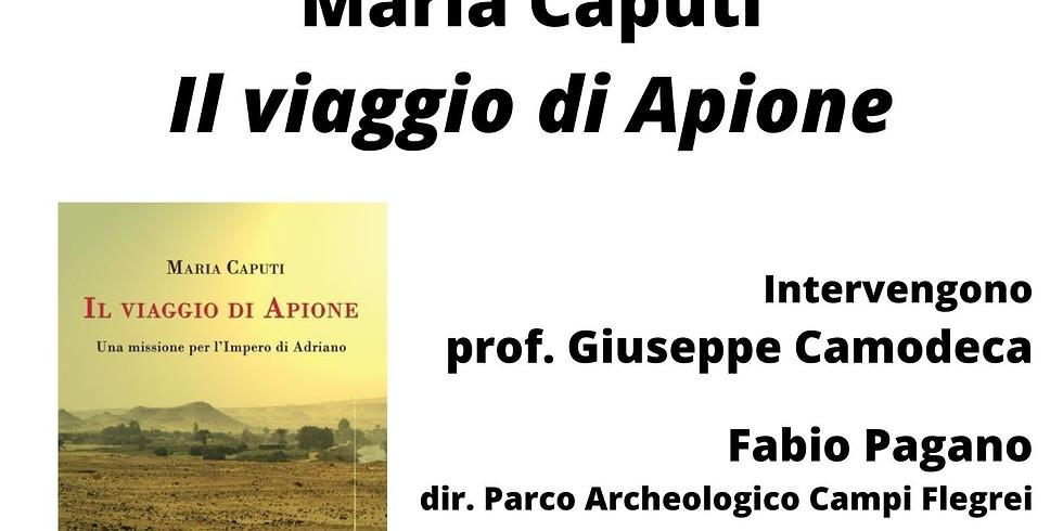 """Maria Caputi presenta """"Il viaggio di Apione"""" alla Fiera del Libro di Napoli"""
