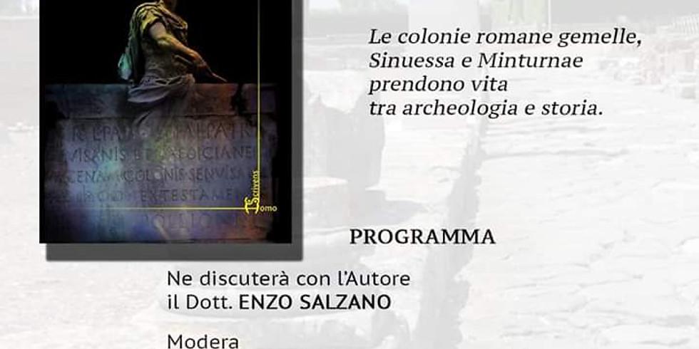"Luigi Crimaco presenta ""Sinuessa"" al Museo Diocesano di Gaeta (LT)"