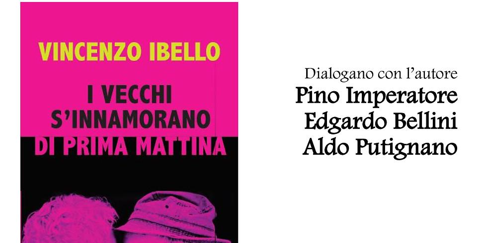 """Vincenzo Ibello presenta """"I vecchi s'innamorano di prima mattina"""" in sede"""